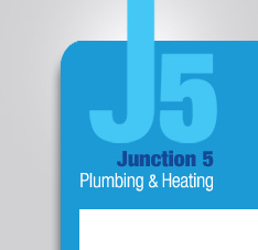J5 Plumbing and Heating logo - click to go to home page